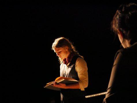 Celeste Briggs as Jo March in Glenns Little Women
